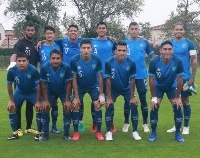 Este fue el 11 titular de Guatemala, que enfrentó a Inglaterra. (Foto Prensa Libre: Cortesía Fedefut)