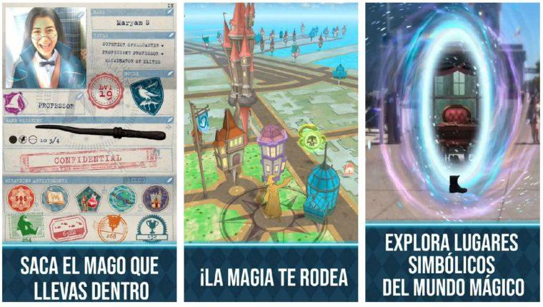 """""""Harry Potter Wizards Unite"""" es un videojuego de realidad aumentad. (Foto Prensa Libre: WizardsUnite.com)"""