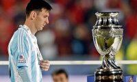 Lionel Messi no ha logrado ganar nada con la Selección Mayor de Argentina. (Foto Prensa Libre: Hemeroteca PL)