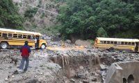 El 9 de junio de 2019 la lluvia afectó varios puntos de Sololá. (Foto Prensa Libre: Hemeroteca PL)