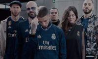 El Real Madrid presentó su segunda camisola a utilizar en la temporada 2019-2020. (Foto Real Madrid).
