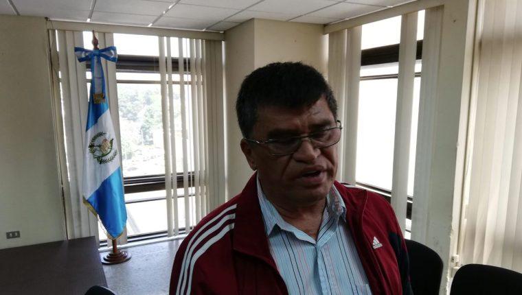 El exalcalde de Chinautla, Arnoldo Medrano. (Foto Prensa Libre: Kenneth Monzón)