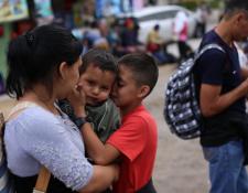 Miles de niños guatemaltecos migran cada año a EE. UU., muchos de ellos solos, otros con sus familias. (Foto Prensa Libre: Hemeroteca PL)