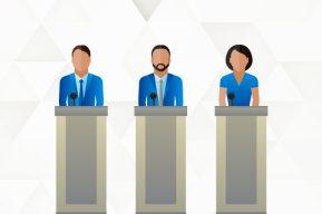 Gráficos interactivos: Actitud general hacia la oferta electoral