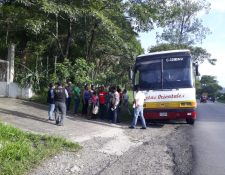 El operativo fue puesto en Chiquimula y Jutiapa. (Foto Prensa Libre: PNC)