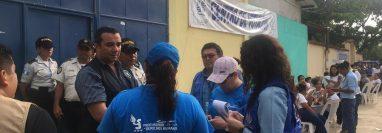 En San Jorge, Zacapa, el Tribunal Supremo Electoral, suspendió las elecciones y analizará el caso. (Foto Prensa Libre: Cortesía PDH)