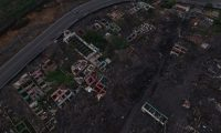 Recorrido por el ‡rea devastada por e Volcan de Fuego, mejor conocida como Zona Cero, hoy, un a–o despuŽs , de la aldea Los Lotes solo queda el rastro de la destrucci—n y la fuerza del volc‡n.  foto por Carlos Hern‡ndez Ovalle 29/05/2019