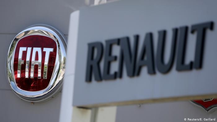 Imagen simbólica: fusión entre Fiat Crysler y Renault.  (Reuters/E. Gaillard)