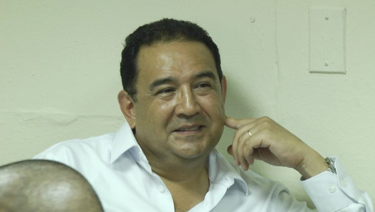 Sammy Morales enfrenta juicio por fraude y lavado de dinero u otros activos. (Foto Prensa Libre: Alejandro Escobar)
