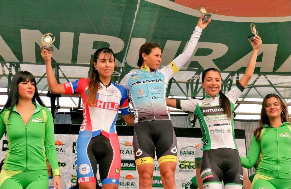 El equipo Astana y Arlenis Sierra ganan el duelo en la segunda etapa de la Vuelta a Guatemala