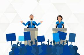 Gráficos interactivos: Escenarios de segunda vuelta electoral