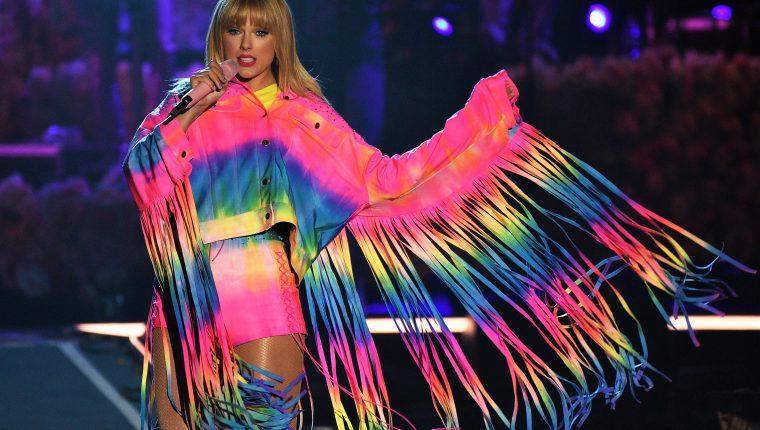 Taylor Swift está molesta porque el productor Scooter Braun, con quien ha tenido diferencias en el pasado,  ahora es dueño de su música. (Foto Prensa Libre: imageSPACE/ Sipa USA).