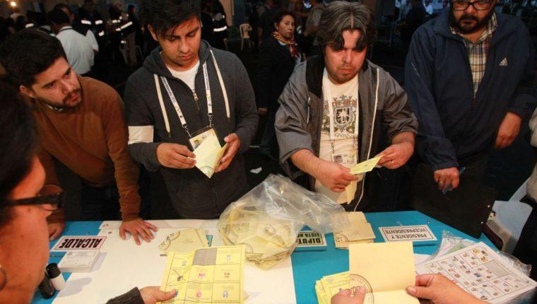 La disposición del TSE busca proteger la secretividad del voto. (Foto Prensa Libre: Hemeroteca PL)