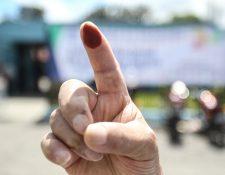 Guatemaltecos se dan cita en las urnas para elegir a sus próximas autoridades. (Foto Prensa Libre: Keneth Cruz)
