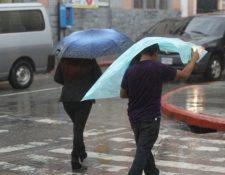 Se espera incremento de lluvias sobre todo el territorio nacional. (Foto Prensa Libre: Hemeroteca PL).