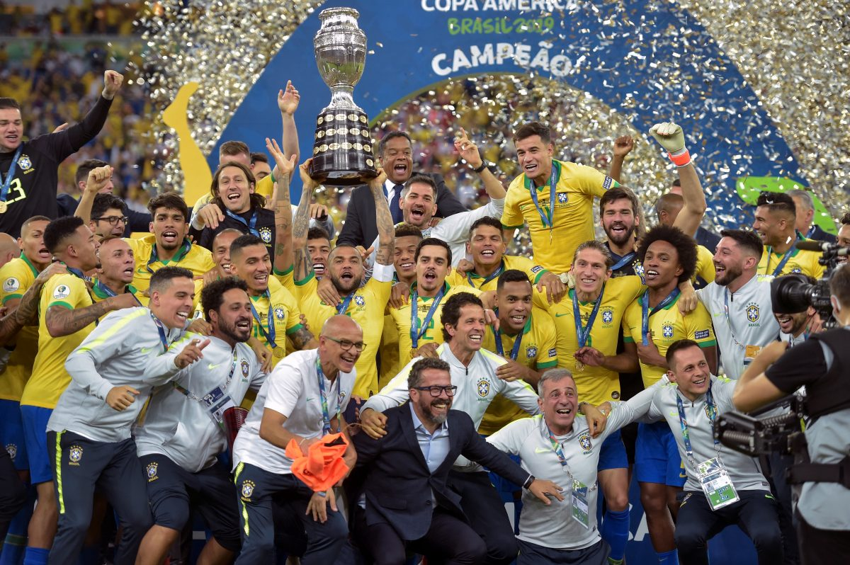 Brasil gana la Copa América 2019 al vencer contundentemente a Perú 3-1