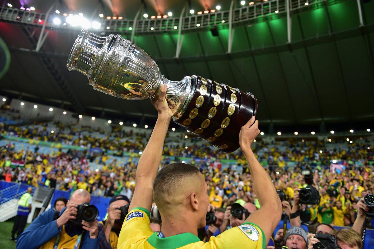Los goles, la celebración de Brasil y la presentación de Anitta, estas son las imágenes de la final de la Copa América 2019
