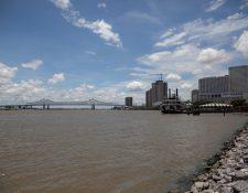 La tormenta tropical Barry amenaza con afectar Nueva Orleans. (Foto Prensa Libre: AFP)