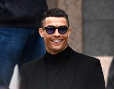 Cristiano Ronaldo quedó libre de cargos en el caso   que afrontaba por supuesta violación en Las Vegas, Estados Unidos. (Foto Prensa Libre: AFP)