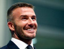 Después de varios años de trabajar en el proyecto de un equipo en la MLS, pronto se cumplirá el sueño de Beckham. (Foto Prensa Libre: AFP)