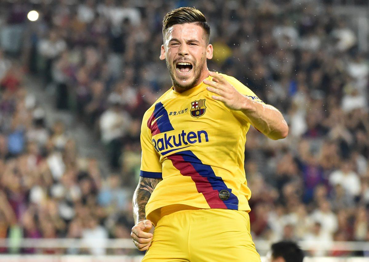 Con doblete de Carles Pérez el Barcelona vence 2-0 al Vissel Kobe de Iniesta