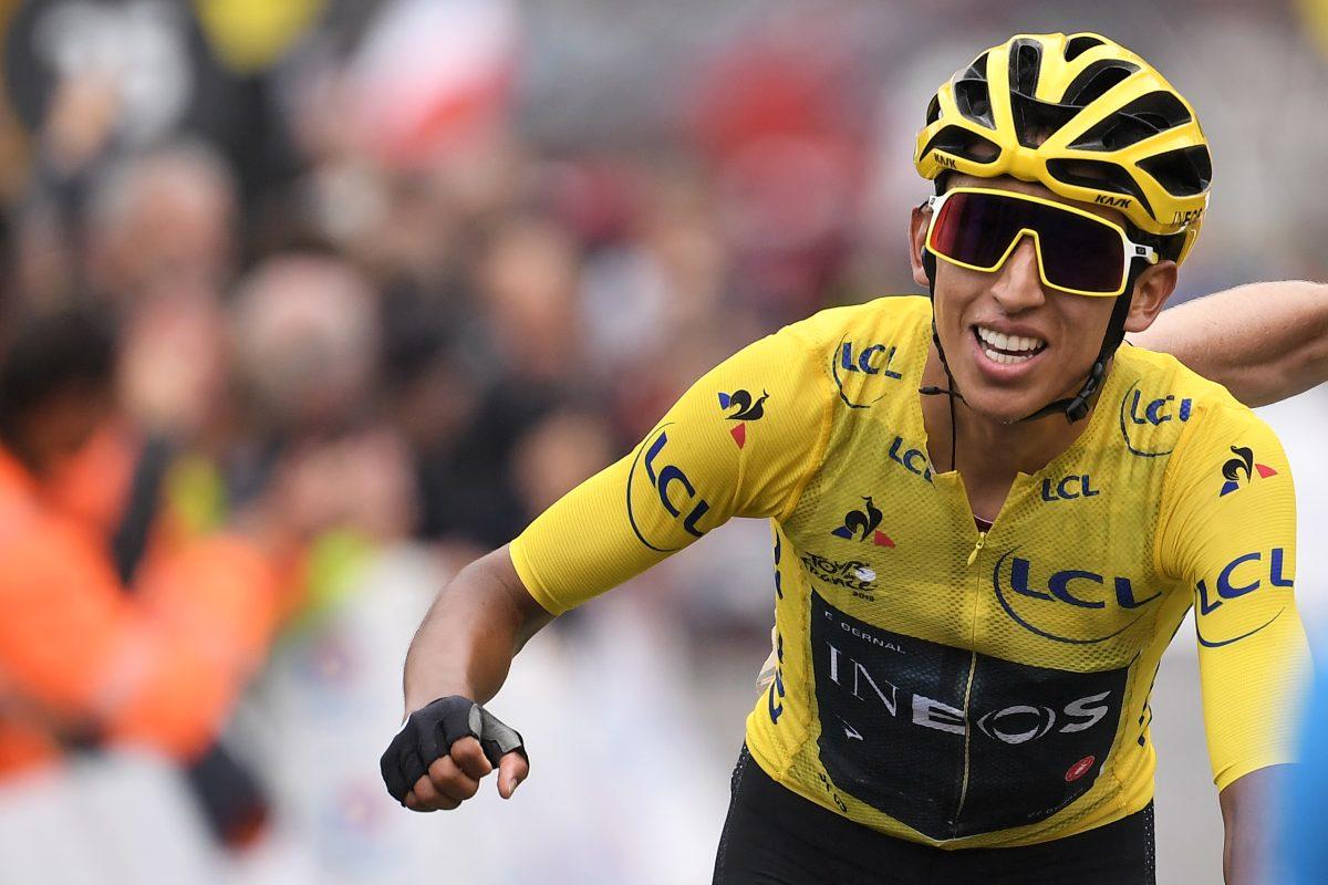 El colombiano Bernal es el virtual ganador del Tour de Francia, París y la gloria lo esperan
