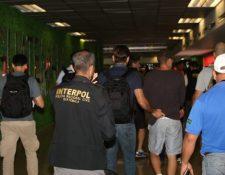 Los brasileños son expulsados del país. (Foto: PNC)