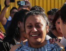 Evelyn Hernández salió en febrero de la cárcel en la que permanecía desde 2016 tras parir a un bebé muerto.