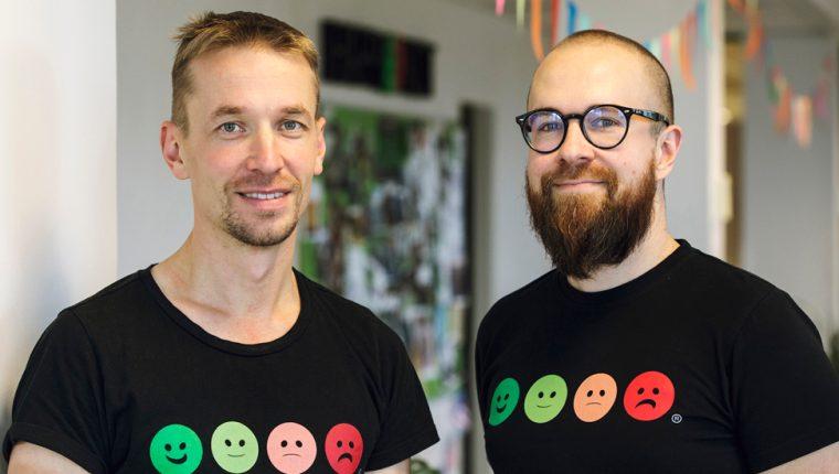 Heikki Vaananen y Ville Levaniemi fundaron una empresa a partir de la frustración por un mal servicio.