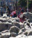 Una inusual granizada cubrió algunas áreas de la zona metropolitana de Guadalajara.