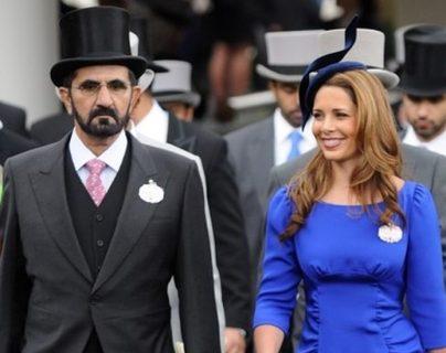 La princesa Haya solía frecuentar las carretas de caballos con su esposo, el jeque Mohammed al Maktoum.