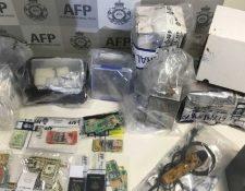 La policía decomisó en California en enero lo que describieron como el mayor cargamento de metanfetaminas que se ha incautado en Estados Unidos e iba dirigido a Australia.