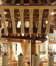 Detalle de las extraordinarias máquinas con las que se hacían los hilos de seda en Piemonte, que John Lombe plagió.