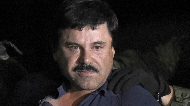 Joaquín el Chapo Guzmán.