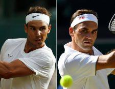 Rafael Nadal y Roger Federer juegan este viernes su partido número 40. El español venció en 24 de los encuentros, por 15 victorias del suizo.