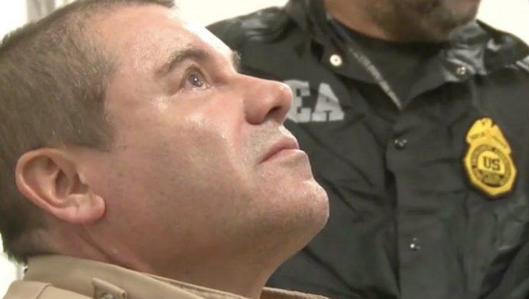 Joaquín Guzmán Loera fue condenado a cadena perpetua. (Foto Prensa Libre: BBC News Mundo)