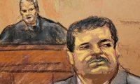 Ilustración de la sentencia contra el Chapo Guzmán.