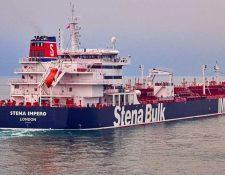 El petrolero británico Stena Impero fue interceptado por fuerzas iraníes en el estrecho de Ormuz el viernes 19 de julio.