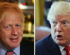Las similitudes entre Boris Johnson y Donald Trump va más allá del amarillo chillón de sus cabellos.