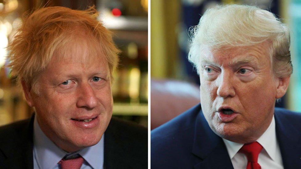 Las sorprendentes similitudes entre Donald Trump y Boris Johnson, el controvertido nuevo primer ministro británico