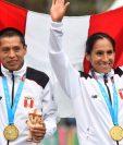 Los peruanos Christian Pacheco y Gladys Tejeda se llevaron las medallas de oro en la maratón femenina y masculina de los Panamericanos.