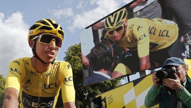 Egan Bernal, el ganador de la 106 edición del Tour de Francia.