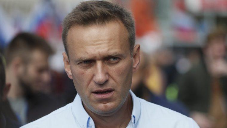Alexei Navalny es el principal opositor de Vladimir Putin.