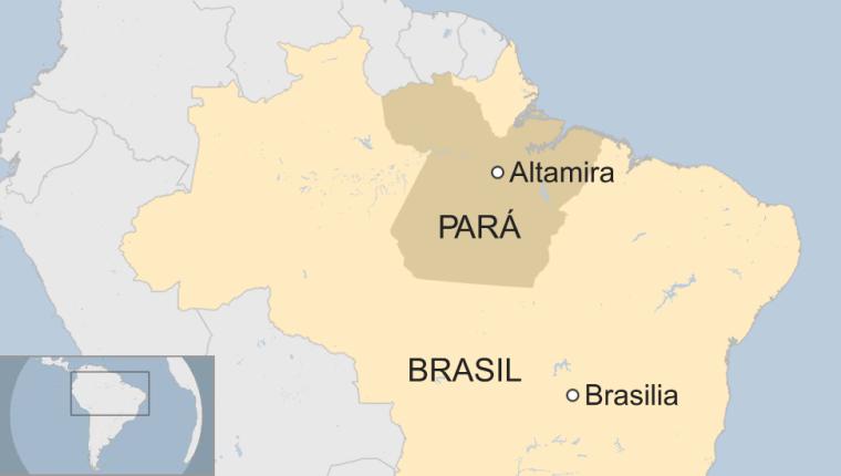 El incidente se dio en una prisión de Altamira, en el estado de Pará.