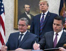 El secretario de Seguridad Interna de Estados Unidos, Kevin McAlleenan. arribará este miércoles a Guatemala. (Foto Prensa Libre: Hemeroteca)