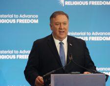 El jefe de la diplomacia visitará El Salvador y México en los próximos días, pero no irá a Guatemala ni Honduras. (Foto Prensa Libre: AFP)