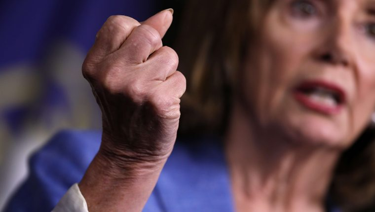 Nancy Pelosi, presidenta de la Cámara de Representantes de EE. UU. visitará Guatemala a la semana siguiente que lo hiciera Kevin McAleenan, secretario de Seguridad Interna. (Foto Prensa Libre. AFP)
