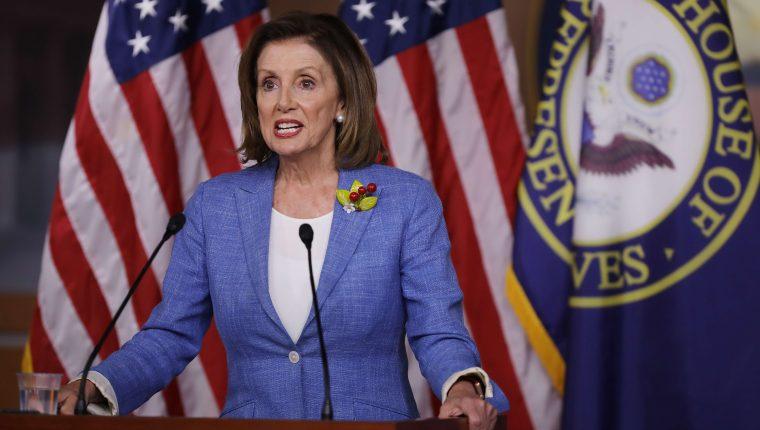 Nancy Pelosi es la mujer más poderosa de la política estadounidense. (Foto Prensa Libre: Hemeroteca PL)