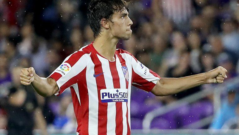 El portugués Joao Felix ha causado una gran sensación por su desempeño con el Atlético de Madrid. (Foto Prensa Libre: AFP)