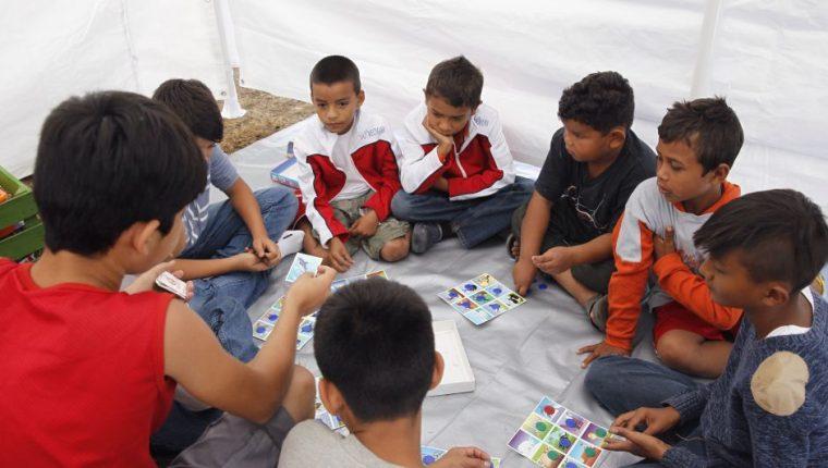 El albergue cuenta con áreas especiales para el entretenimiento de los niños. (Foto: EFE)